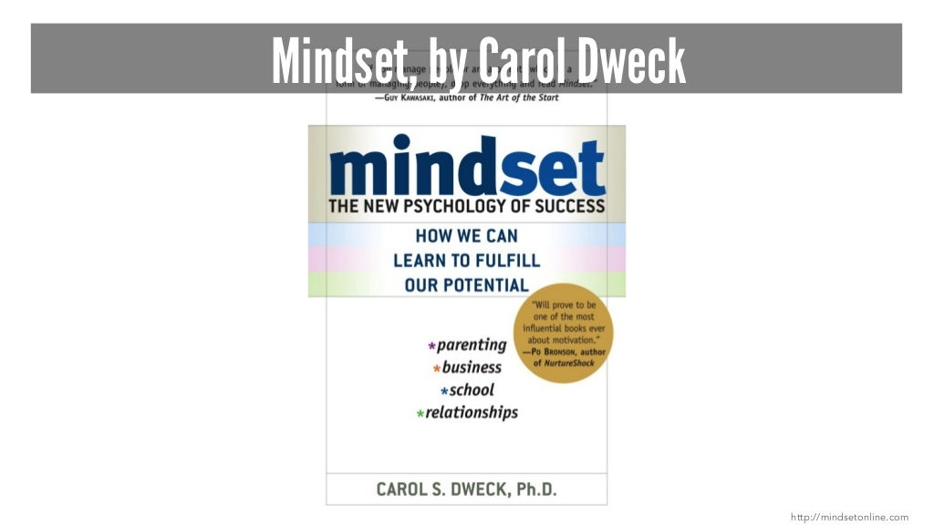 """mindset by carol dweck When carol dweck was a graduate student, in the early 1970s, she began studying how children cope with failure—and she quickly realized that """"cope"""" was the wrong word """"some didn't just ."""