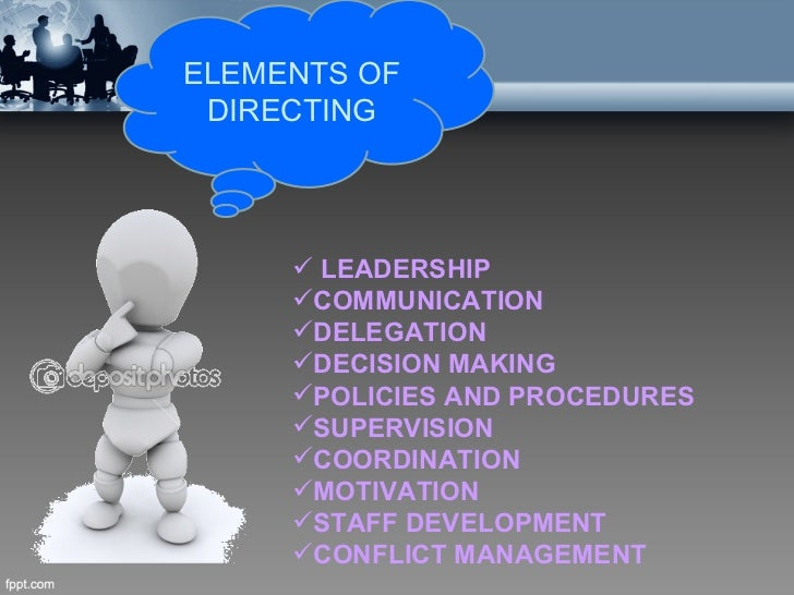 Directing & leadership ppt video online download.