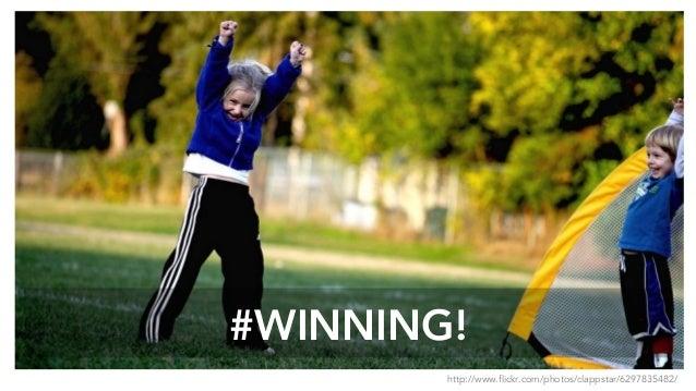 #WINNING! http://www.flickr.com/photos/clappstar/6297835482/