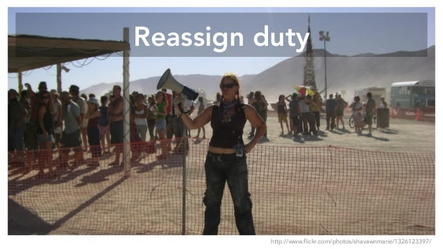 Reassign duty http://www.flickr.com/photos/shavawnmarie/1326123397/