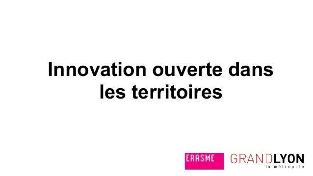 Innovation ouverte dans les territoires