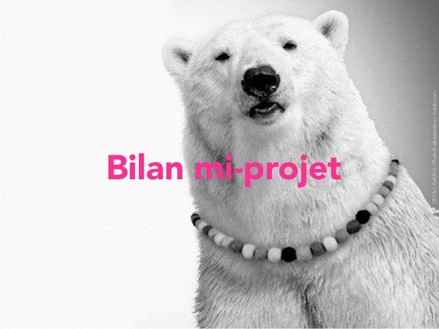 Bilan mi-projet