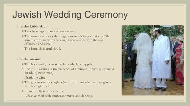 How to plan a jewish wedding ceremony