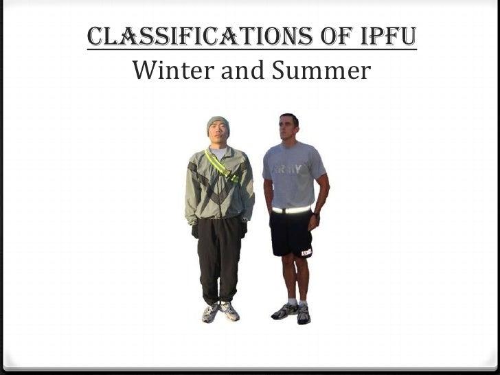 Army Ipfu Standard