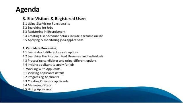 Job posting resume searching site