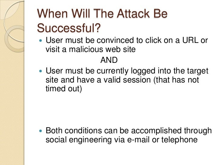 Ways of Launching Cross-Site Scripting Attacks<br />Attacker's script must be sent to the victim<br />Inter-user communica...
