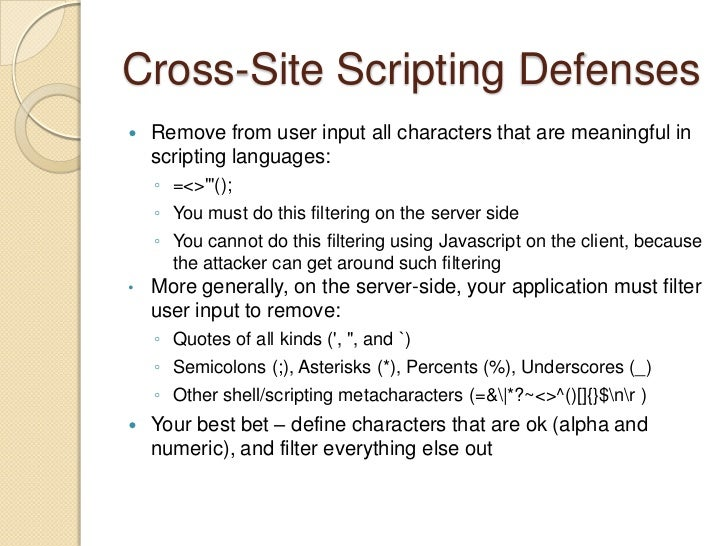 How Cross-Site Scripting Attacks Work<br />Victim logs into the target site<br /><ul><li>Could occur through social engine...