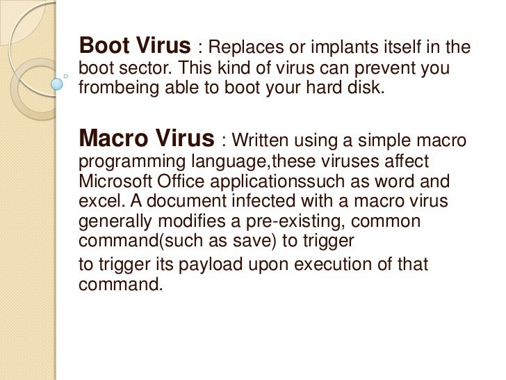 Keep antivirus definitions updated
