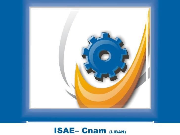 ISAE– Cnam  (LIBAN)