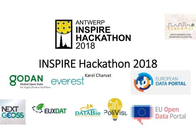 INSPIRE Hackathon 2018 Karel Charvat