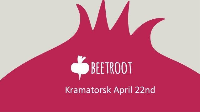 Kramatorsk April 22nd
