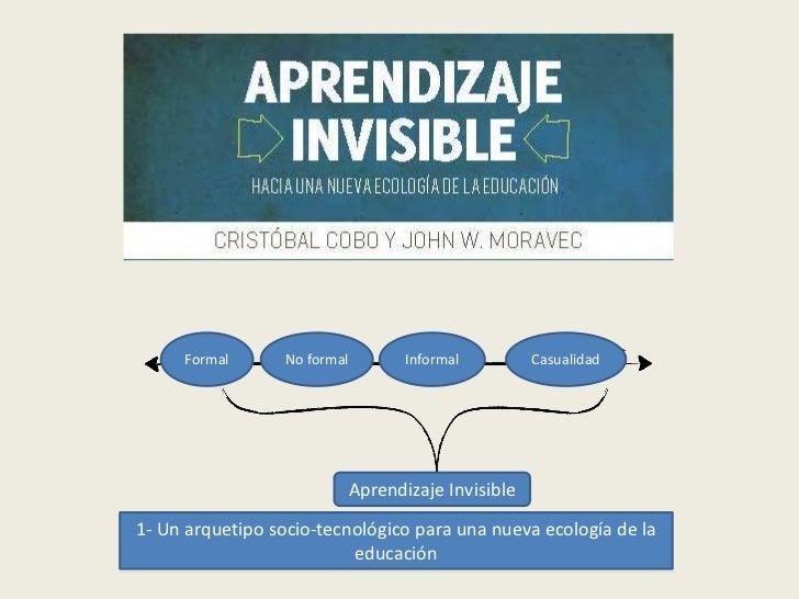 Formal       No formal      Informal         Casualidad                          Aprendizaje Invisible1- Un arquetipo soci...