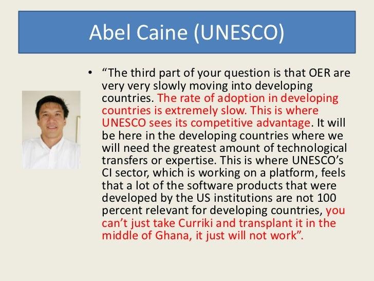Barreras Para Participar               Países en Desarrollo• Alfabetismo Básico – La habilidad de leer y escribir idealmen...