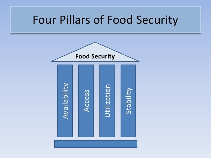 World Health Organisation Food Security