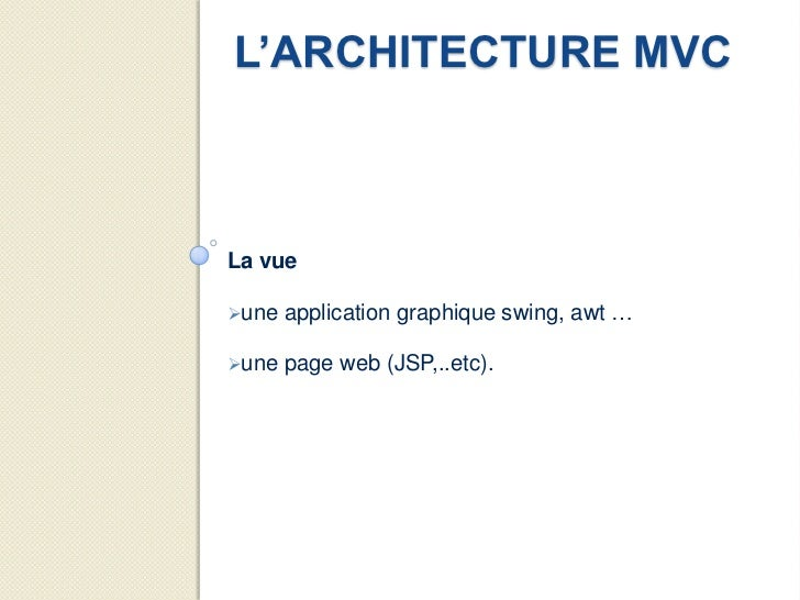 Presentation jee et son cossyst me for Architecture jee