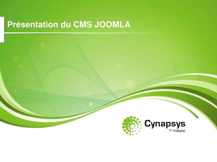 Présentation du CMS JOOMLA<br />