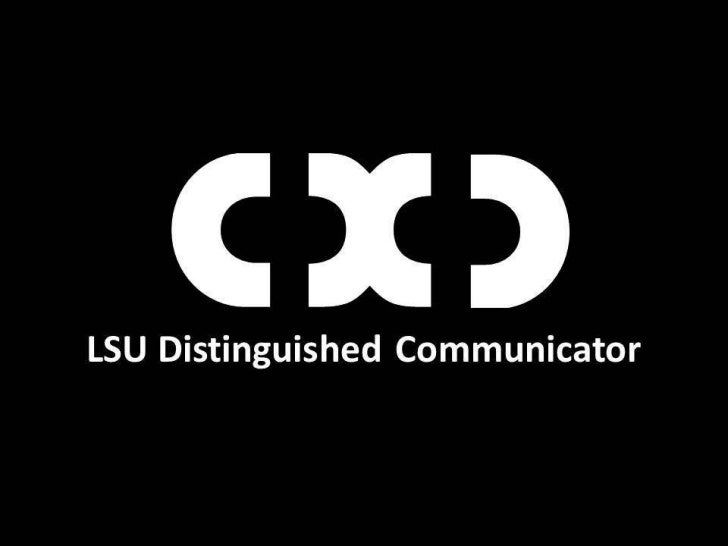 LSU DComm Info Session presentation