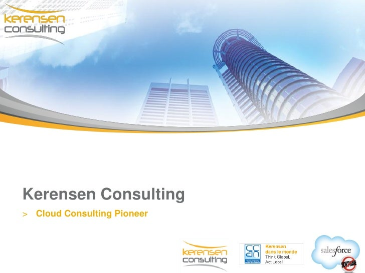 Kerensen Consulting> Cloud Consulting Pioneer