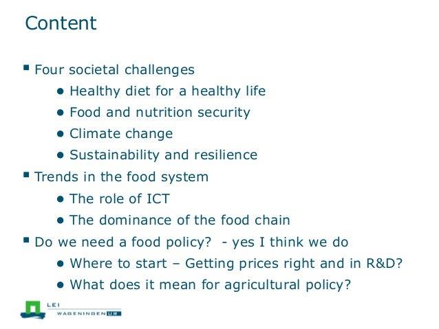 Closing EAAE Seminar 148: Food Policy needed Slide 2