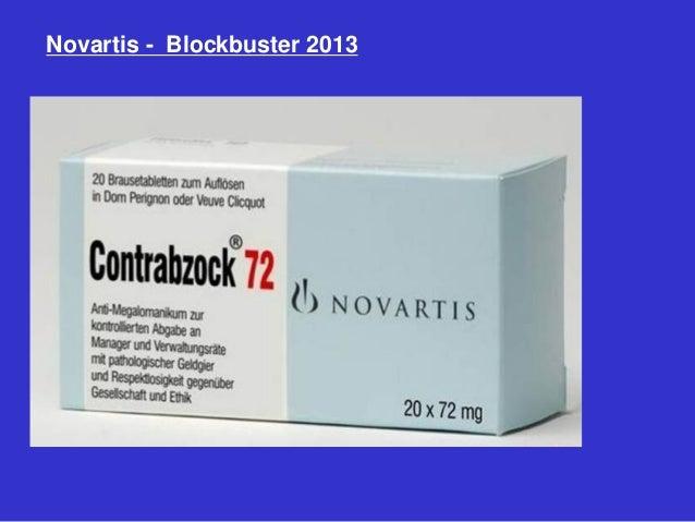 Novartis - Blockbuster 2013