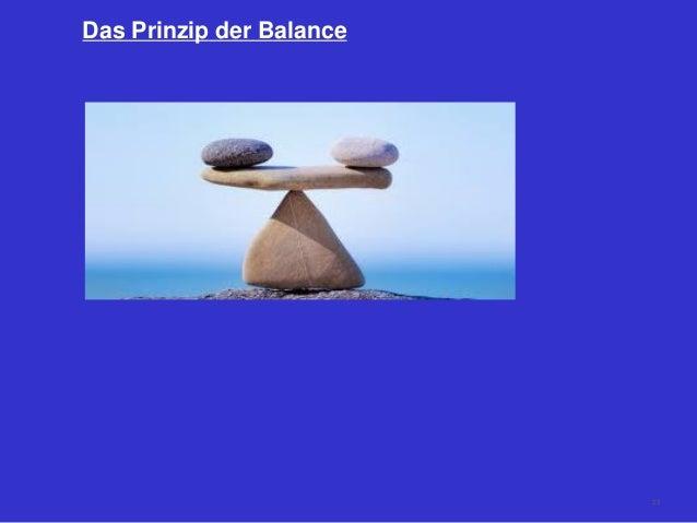 Das Prinzip der Balance 23