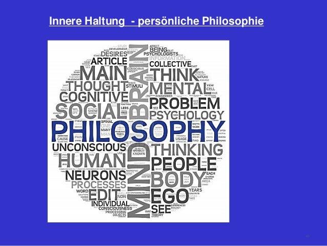 Innere Haltung - persönliche Philosophie 41