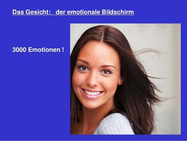 Das Gesicht: der emotionale Bildschirm 3000 Emotionen ! 49