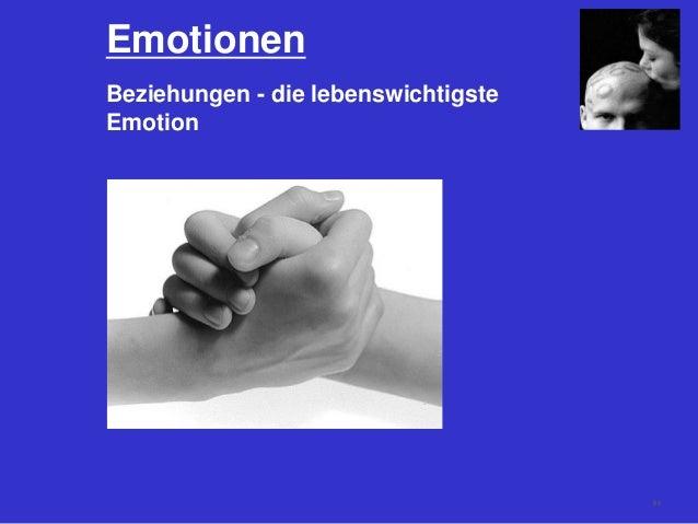 Emotionen Beziehungen - die lebenswichtigste Emotion 68