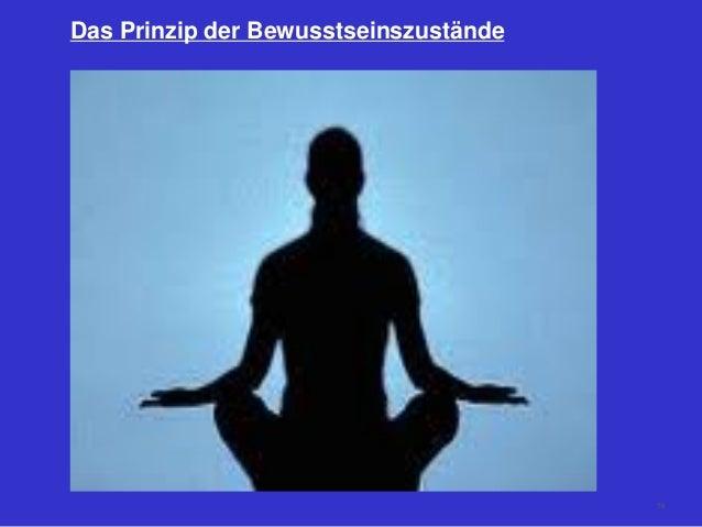 Das Prinzip der Bewusstseinszustände 78