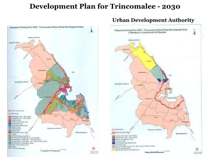 Development Plan for Trincomalee - 2030 Urban Development Authority
