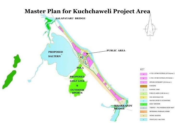 Master Plan for Kuchchaweli Project Area PROPOSED SALTERN PROPOSED GOLF LINK & OUTDOOR SPORTS IRRAKKANDY  BRIDGE SALAPAYAR...