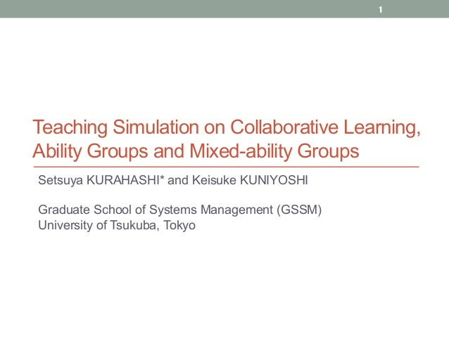Teaching Collaborative Writing : Setsuya kurahashi teaching simulation on collaborative
