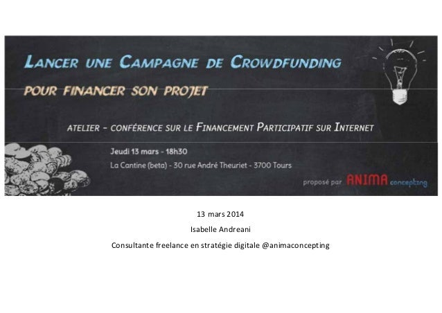 13mars2014 IsabelleAndreani Consultantefreelanceenstratégiedigitale@animaconcepting