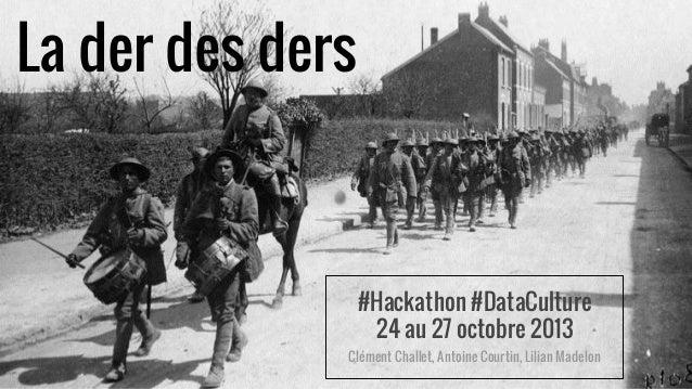 Grand Prix DataCulture du MCC: le projet Laderdesders