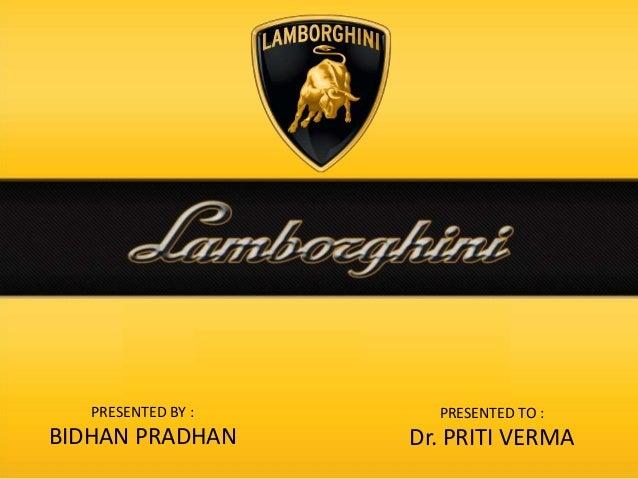 PRESENTED BY : BIDHAN PRADHAN PRESENTED TO : Dr. PRITI VERMA