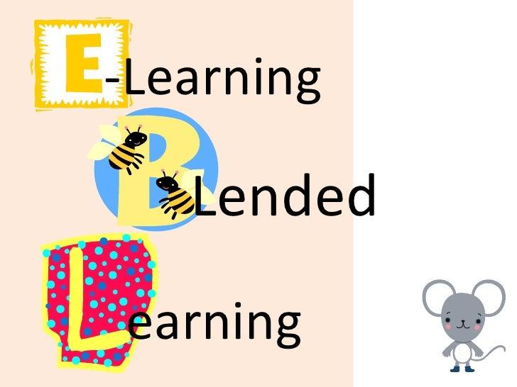 -Learning   Lendedearning