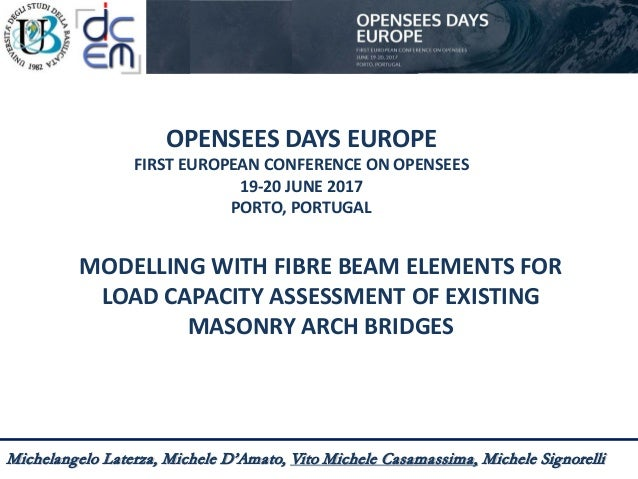 Modelling with fibre beam elements for load capacity