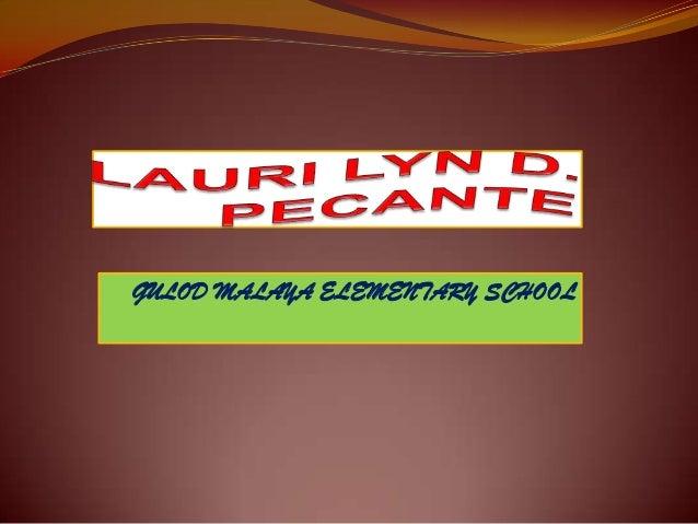 GULOD MALAYA ELEMENTARY SCHOOL