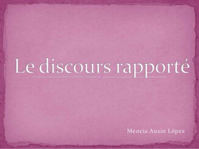 Mencia Ausin López