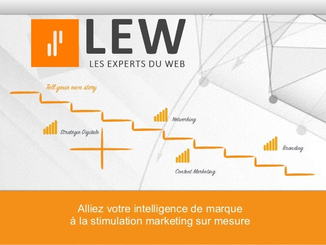 Tell your own story Content Marketing Networking Stratégie Digitale Alliez votre intelligence de marque à la stimulation m...