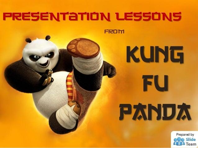 Kung fu panda Prepared by