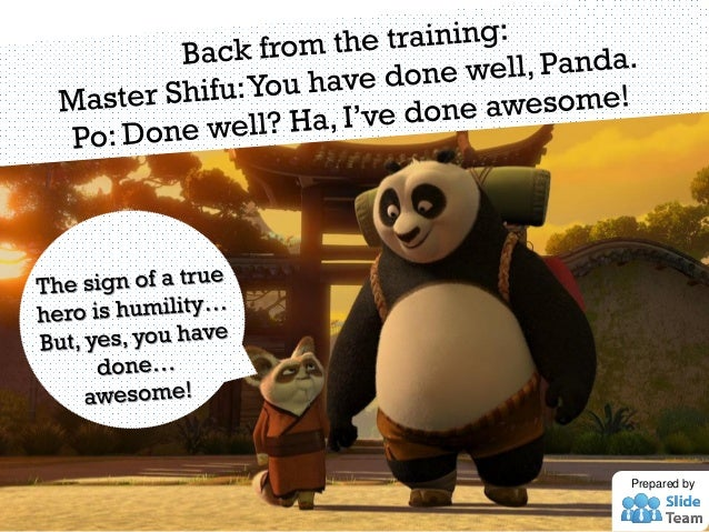9 Presentation Lessons From Kung Fu Panda