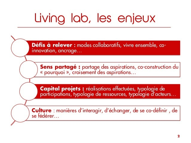 Living Lab by George Bailey Slide 2