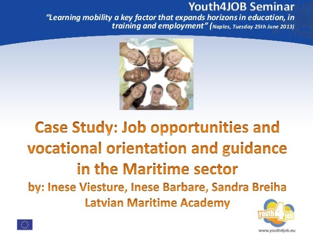 """Youth4JOB Seminar  """"Learning mobility a key factor that expands horizons in education, in training and employment"""" (Naples..."""