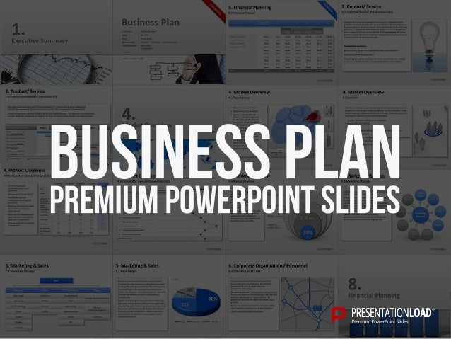 Slideshare business plan powerpoint presentation
