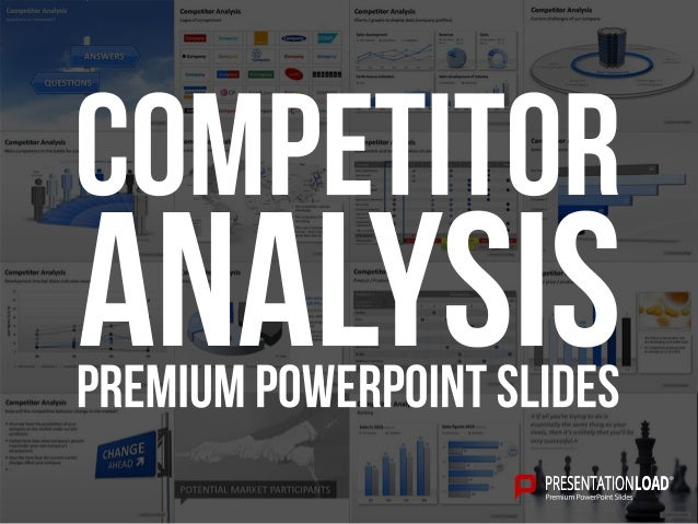 Analysis PPT Slide Template – Competitive Analysis Templates