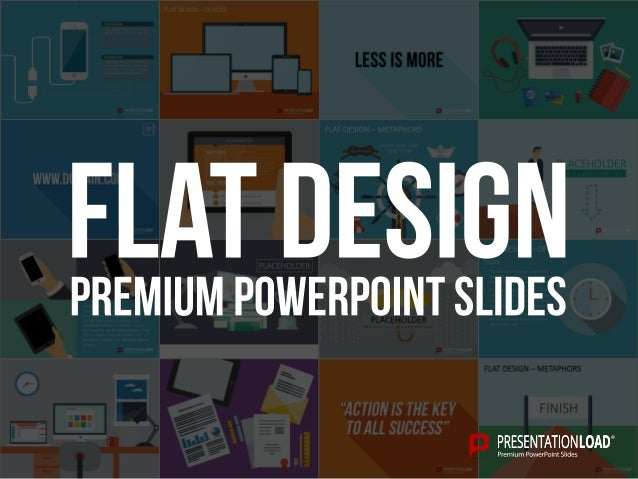 Flat design powerpoint template toneelgroepblik Choice Image