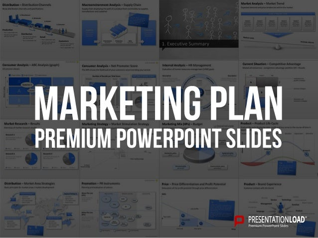 Marketing Plan Ppt Slide Template
