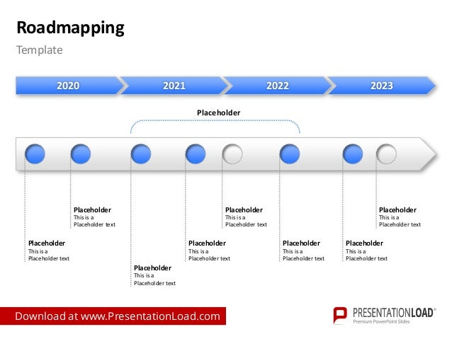 roadmapping ppt slide template