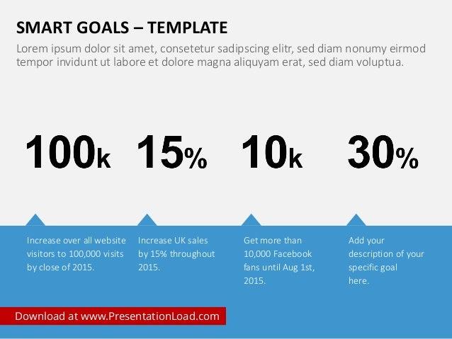 smart goals powerpoint template